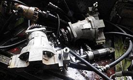 Испытание гидравлических агрегатов на специализированном стенде